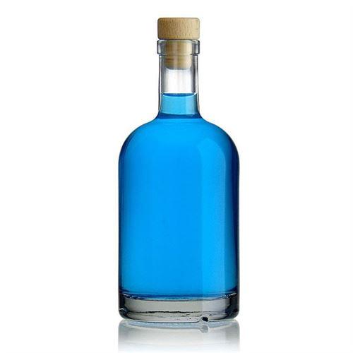 """500ml bottiglia in vetro chiaro """"First Class"""""""