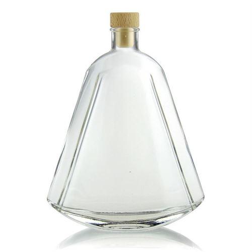 """500ml bottiglia in vetro chiaro """"Maurizio"""""""