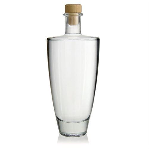 "500ml bottiglia in vetro chiaro ""Vanessa"""