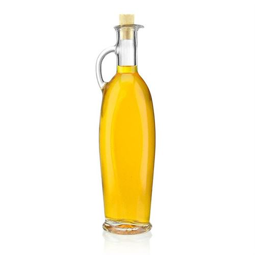 "500ml bottiglia in vetro chiaro ""Simona"""