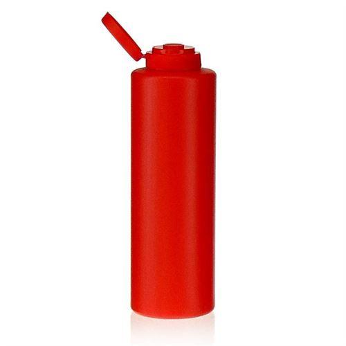 """500ml bouteille LDPE """"Ketch"""" avec couvercle à clapet"""