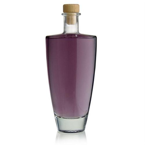 "500ml bouteille en verre clair ""Vanessa"""