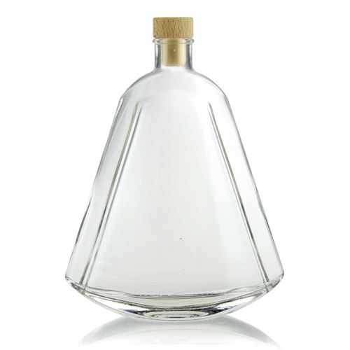"""500ml bouteille en verre claire """"Maurizio"""""""