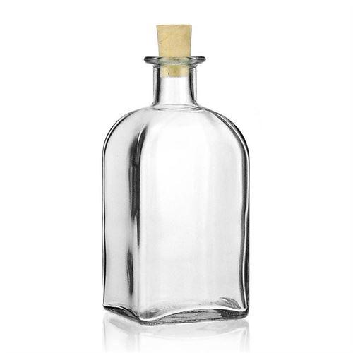 """500ml bouteille verre clair """"Apo Carrée"""""""