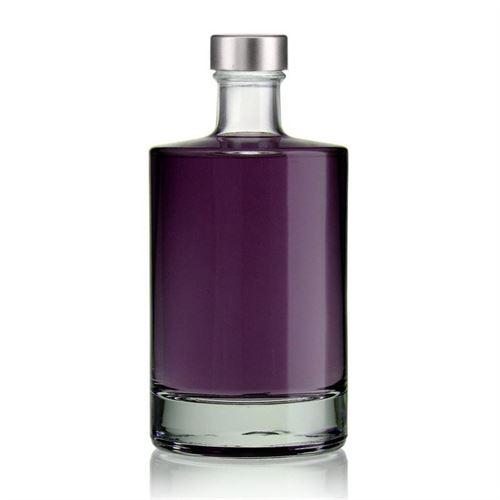 """500ml bouteille verre clair """"Aventura"""" avec bouchon GPI"""