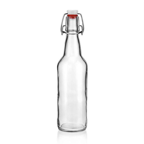 "500ml bouteille verre clair ""Bendolino"""
