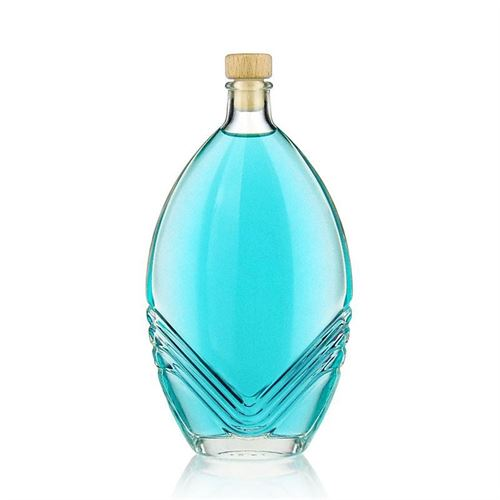 """500ml bouteille verre clair """"Florence"""""""