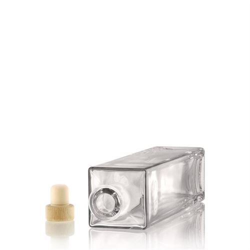 "500ml bouteille verre clair ""Rafaello"""