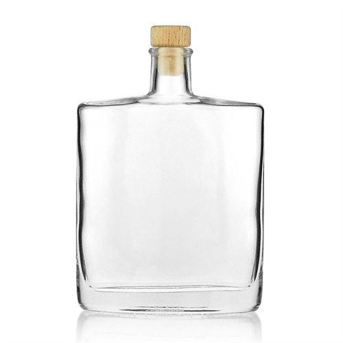 "500ml bouteille verre clair ""Zorbas"""