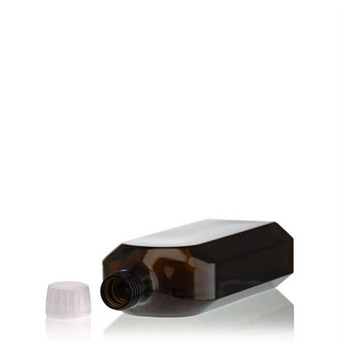 500ml flacon médecine brun spécial avec fermeture d'originalité de 28mm