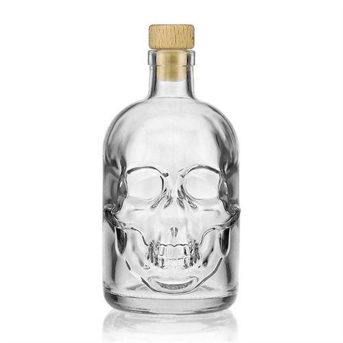 """500ml flaske """"Dødningehoved"""""""