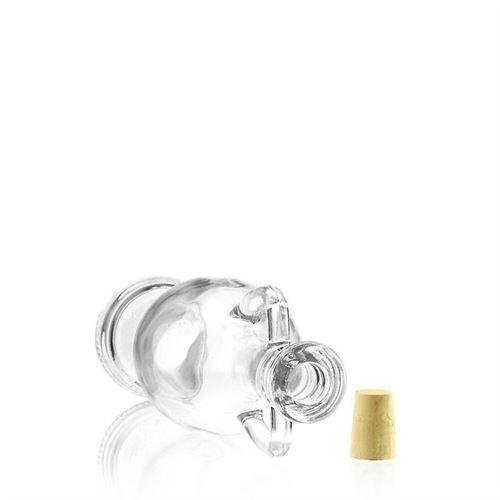 "500ml flaske i klart glas ""Amphore"""