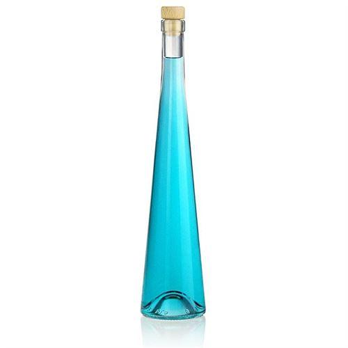 "500ml flaske i klart glas ""Luciano"""