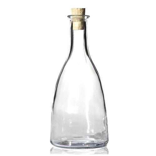"500ml flaske i klart glas ""Viola"""