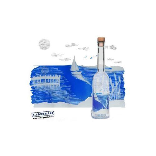 """500ml fles met druk """"Sail Away"""""""