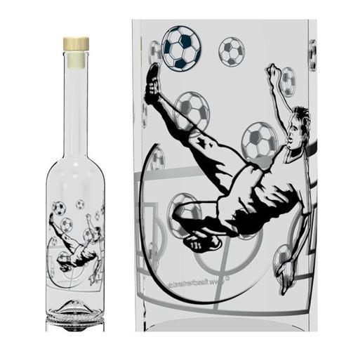 500ml fles opera voetballer