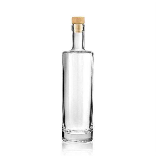 "500ml flaske i klart glas ""Titano"""