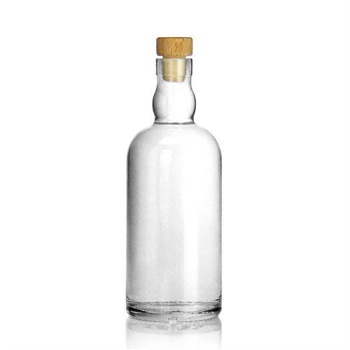 "500ml glazen fles clear ""Aberdeen"""