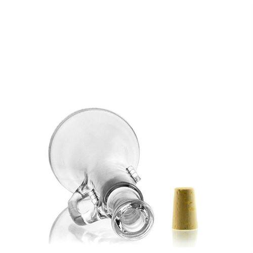 "500ml glazen fles clear ""Trompet"""