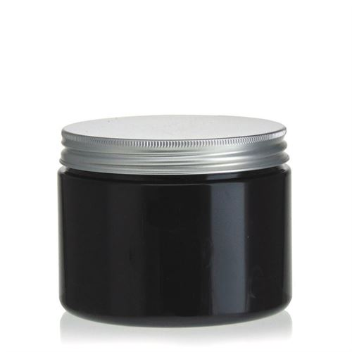 "500ml pot PET ""Georgia"" bouchon fileté aluminium"