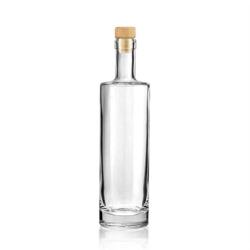 """500ml przezroczysta, szklana butelka """"Titano"""""""