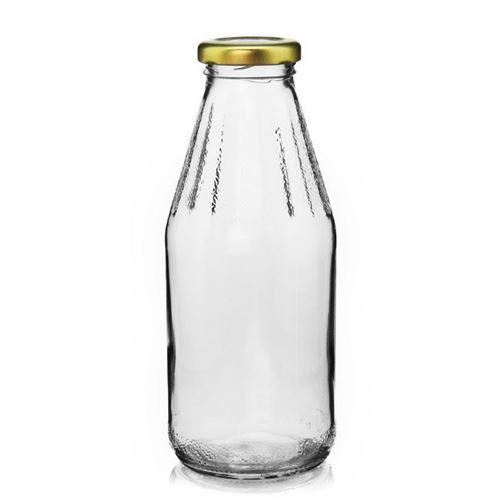 500ml flaske med bred åbning