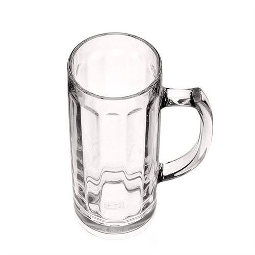 "500ml ølkrus i glas ""Deutschherren"" (RASTAL)"