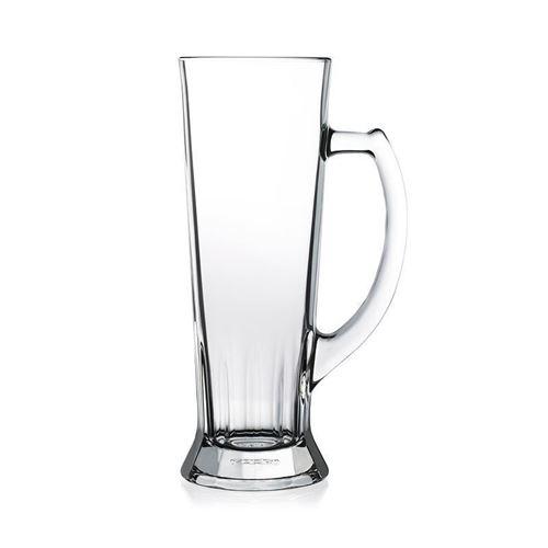 "500ml ølkrus i glas ""Trapez"" (RASTAL)"
