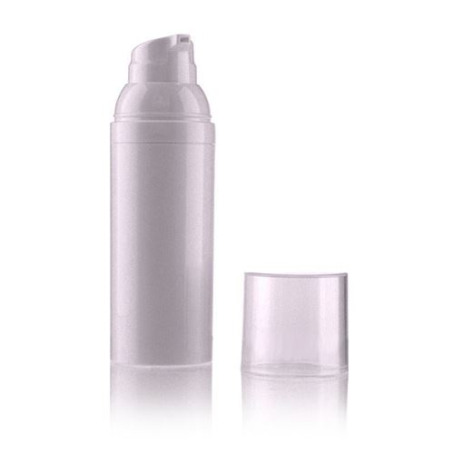 "50ml airless pump ""Wonderful White"""