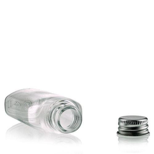 "50ml Bottiglia PET ""Iris"" Aluminio"