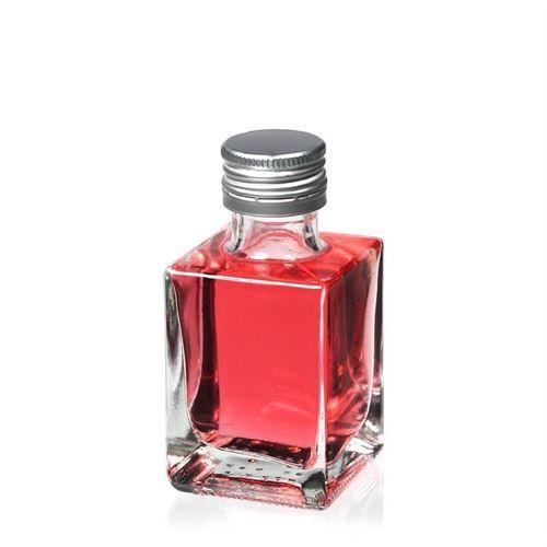 """50ml bottiglia con tappo a vite """"Cube"""""""