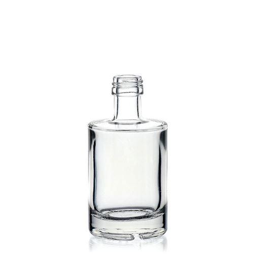 """50ml Klarglasflasche """"Aventura"""" mit Schraubverschluss PP18"""