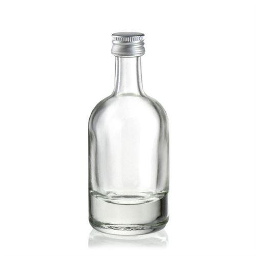 """50ml Klarglasflasche """"Linea Uno"""""""