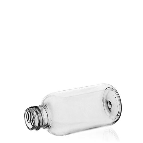 "50ml PET-Flasche ""Boston"" Aluminium"