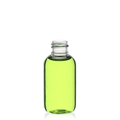"""50ml PET-Flasche """"Boston"""" weiß"""