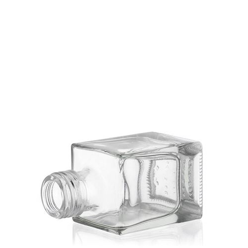 "50ml Schraubverschlussflasche ""Cube"""
