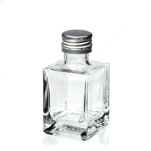 """50ml botella con cierre de rosca """"Cube"""""""
