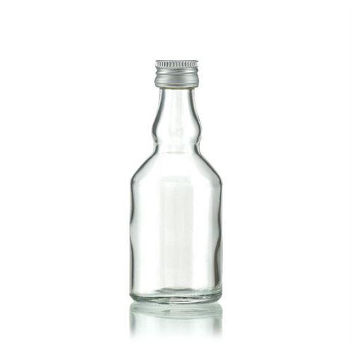 "50ml botella de vidrio transparente ""Georgio"""