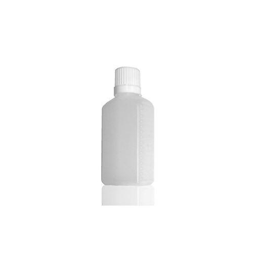 """50ml bottiglia HDPE """"Bidone"""" collo stretto"""