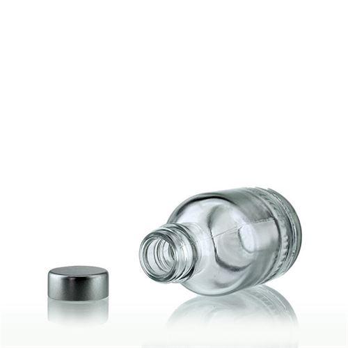 """50ml bottiglia in vetro chiaro """"Lotto"""" con chiusura GPI"""