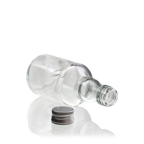 """50ml Bottiglia in vetro chiaro """"Georgio"""""""