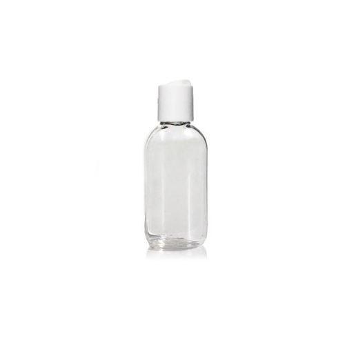 "50ml ovale Pet-Flasche ""Iris"" DiscTop"
