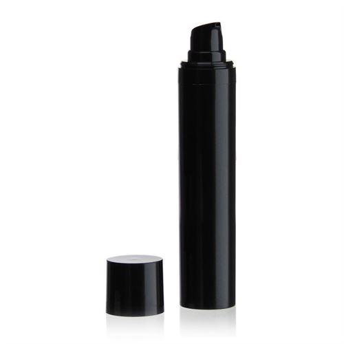 "50ml Airless Dispenser MICRO ""Beautiful Black"""