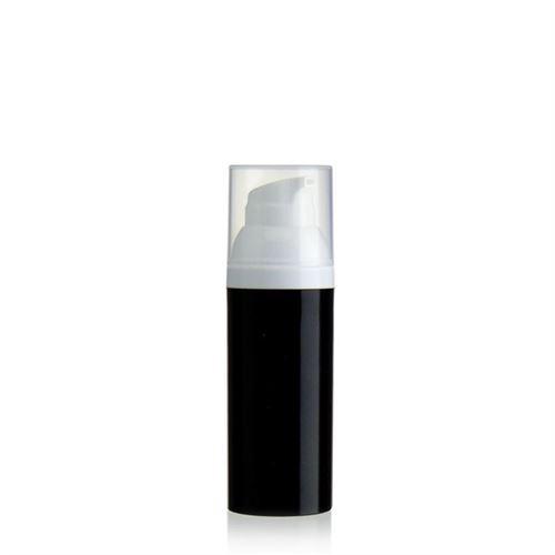 """50ml dispenser """"Airless"""" black/white"""