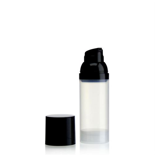 50ml Airless Dispenser natural/black