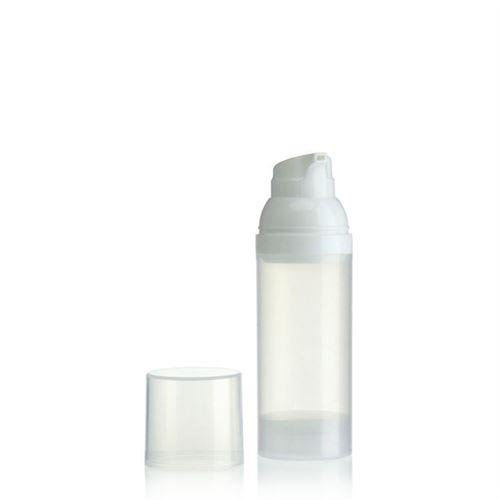 50ml Airless Dispensador natural/white