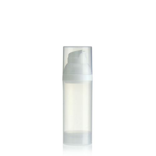 50ml Airless Dispenser natural/white