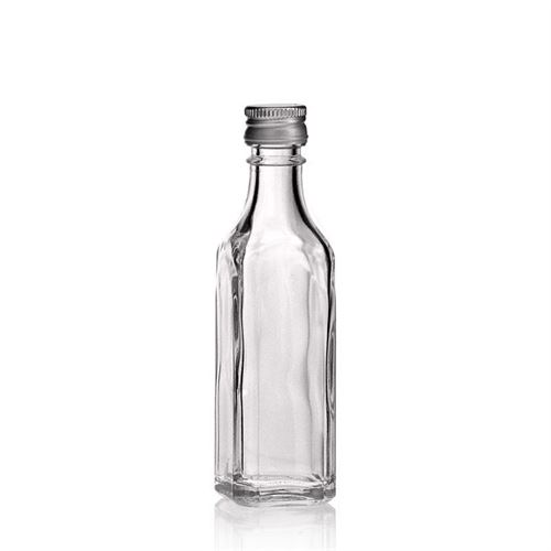 "50ml Bouteille en verre clair ""Siena"""