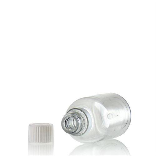 """50ml PET-Flasche-klar """"Easy Living"""" mit Originalitätsverschl."""