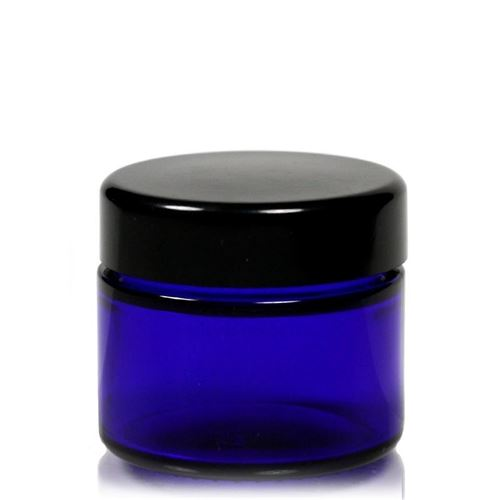 "50ml boîte en verre ""Blue Edition"""